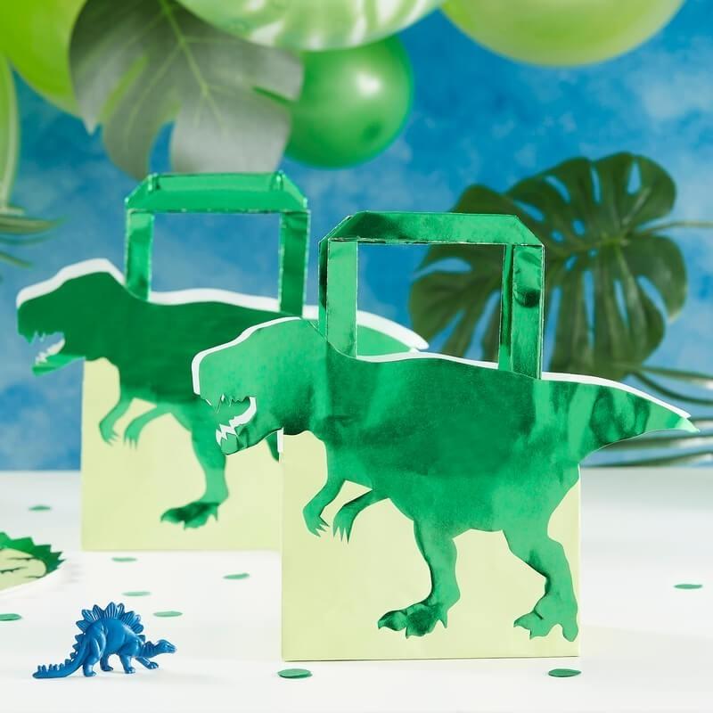 Dinosaur Shaped Favor Bags 11266