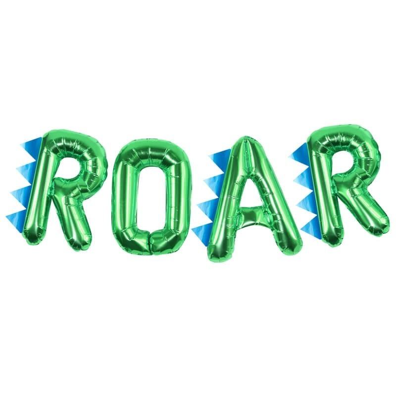 Dinosaur Party Roar Balloon Bunting