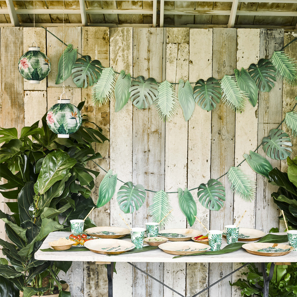 Palm Leaf Garland 11280