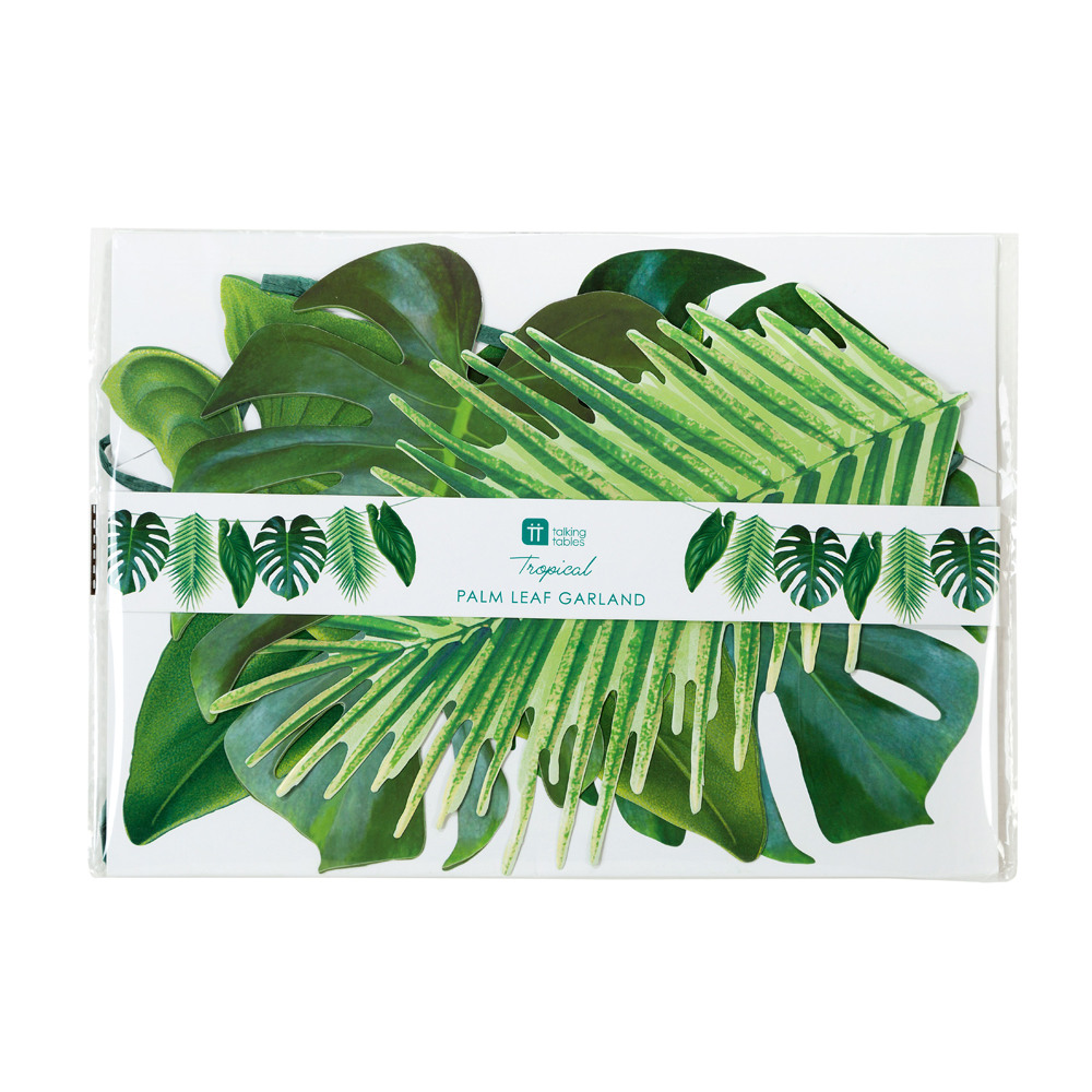 Palm Leaf Garland packaging