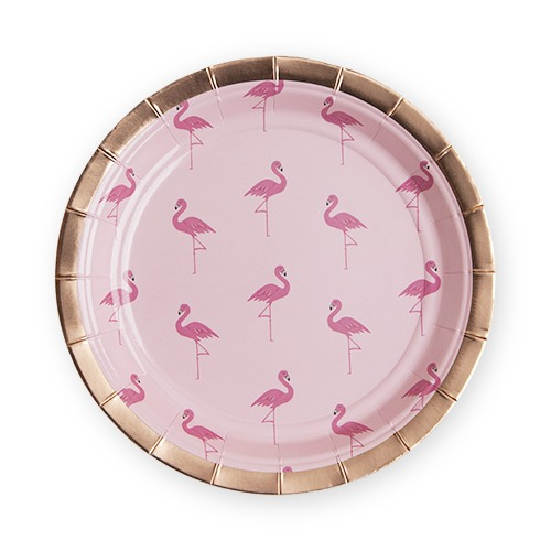 Flamingle Appetizer Plate