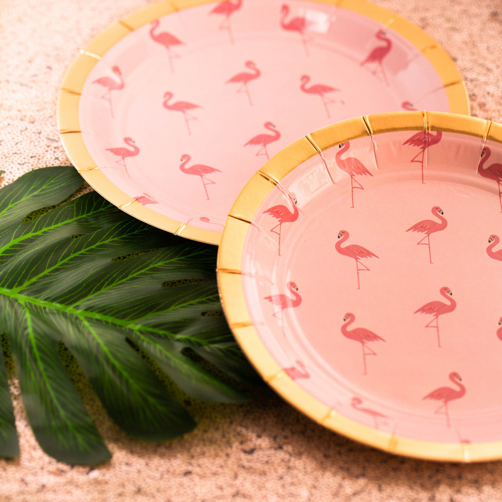 Flamingo Small Paper Plate 11298