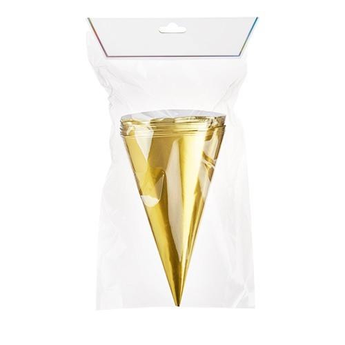 Gold Treat Cones