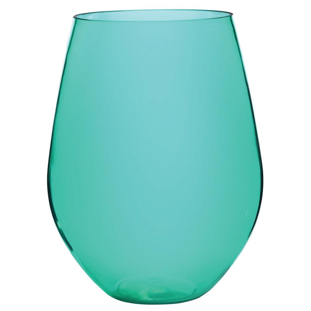 Jumbo Acrylic Stemless Wine Glass