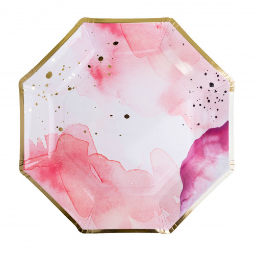 Pretty In Pink Charger Plate 11321