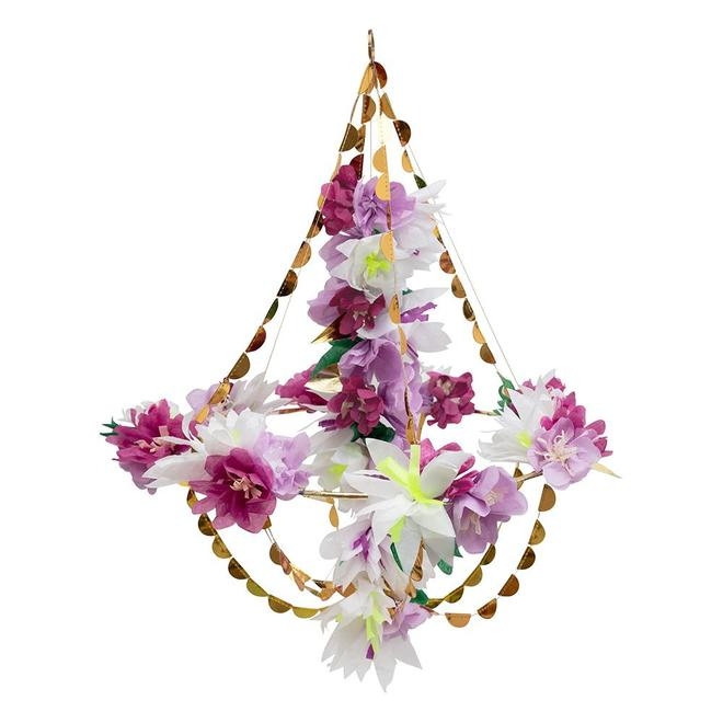 Lilac Blossom Chandelier 11391