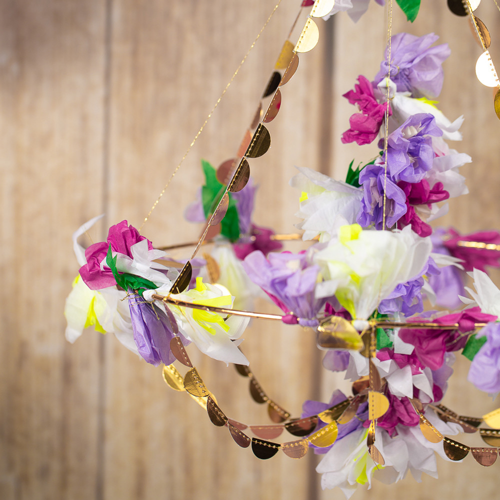 Lilac Blossom Chandelier Baby in Bloom