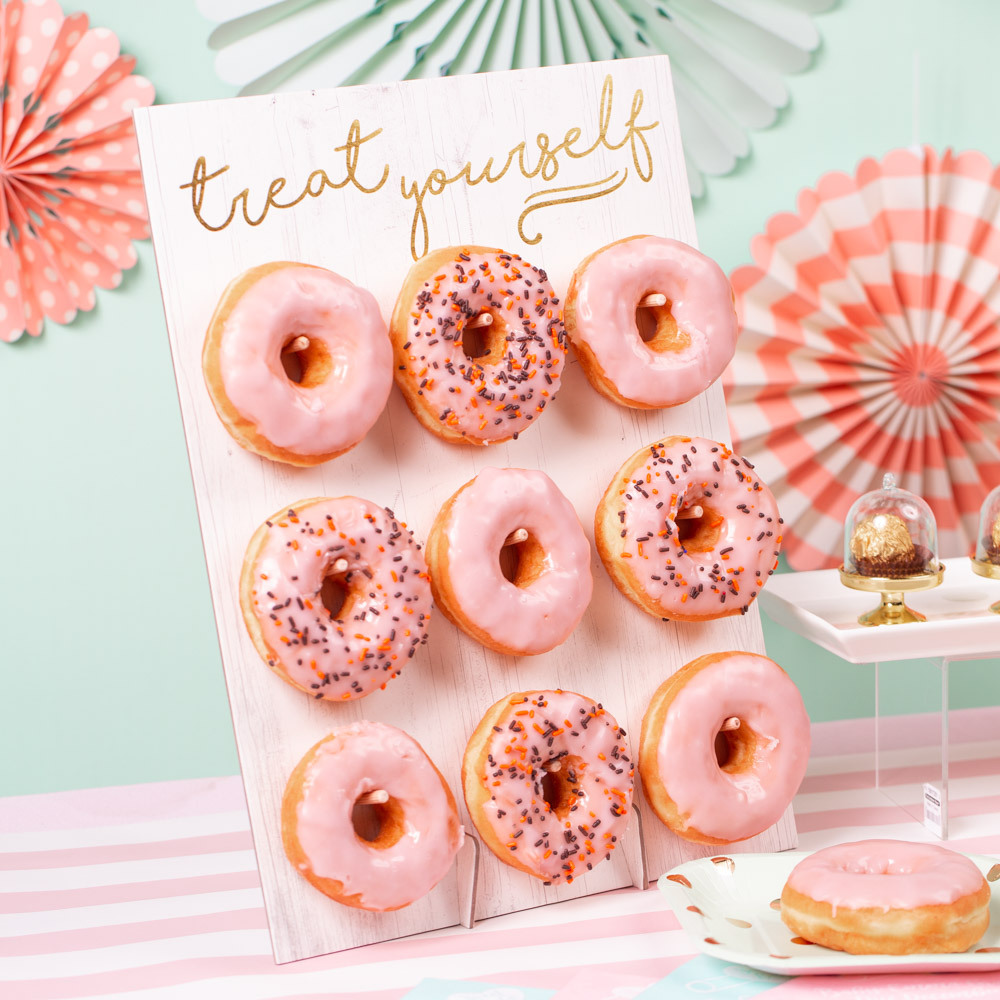 Rustic Treat Yourself Donut Wall sweet baby 2