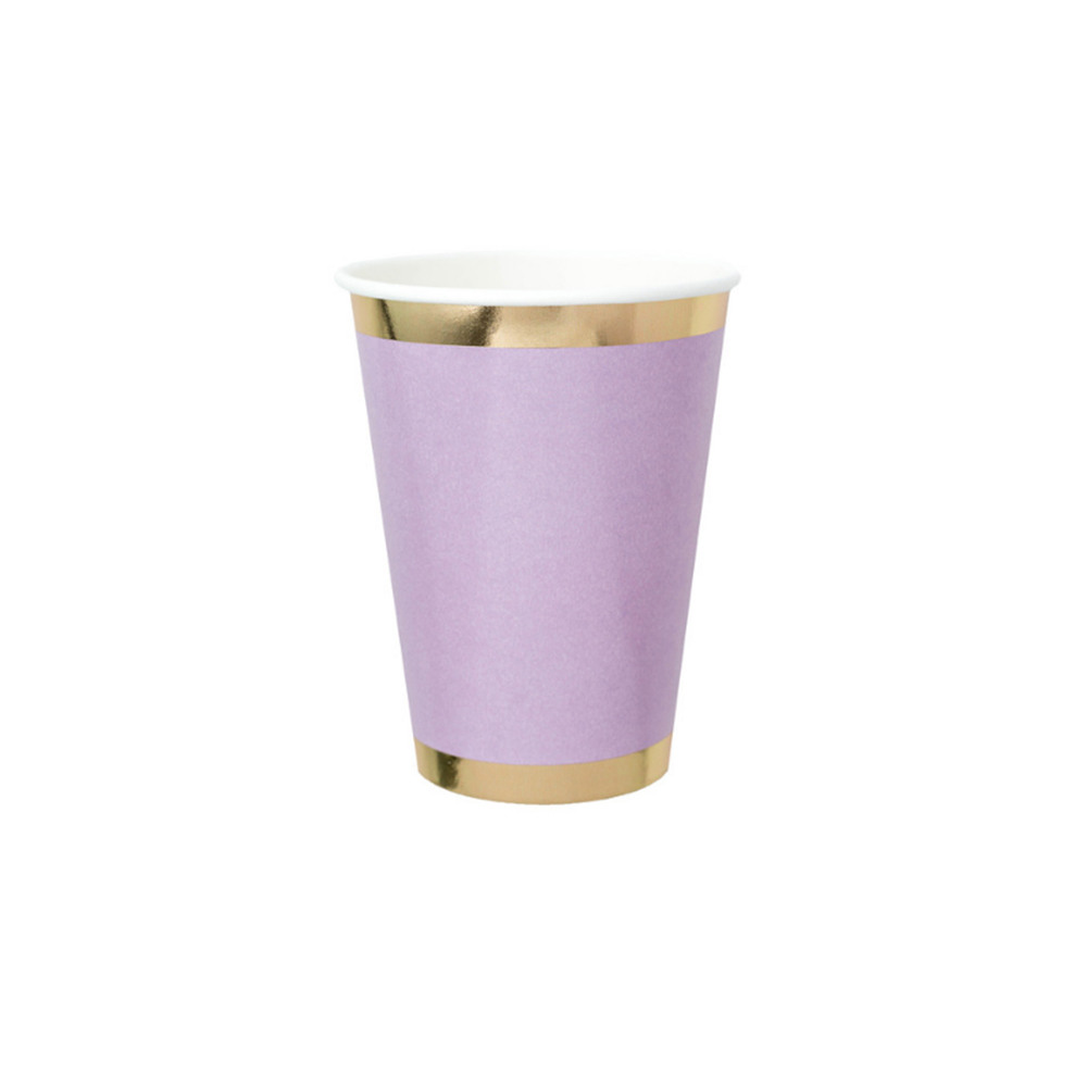 Posh Paper Cups lilac