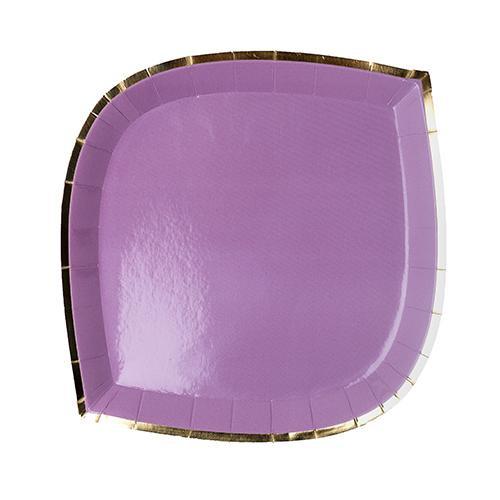 Posh Dessert Plate lilac