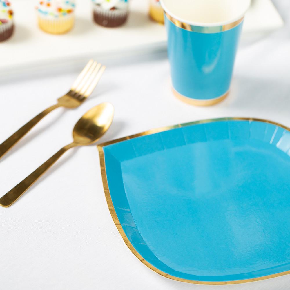 Posh Dinner Plate oh boy blue
