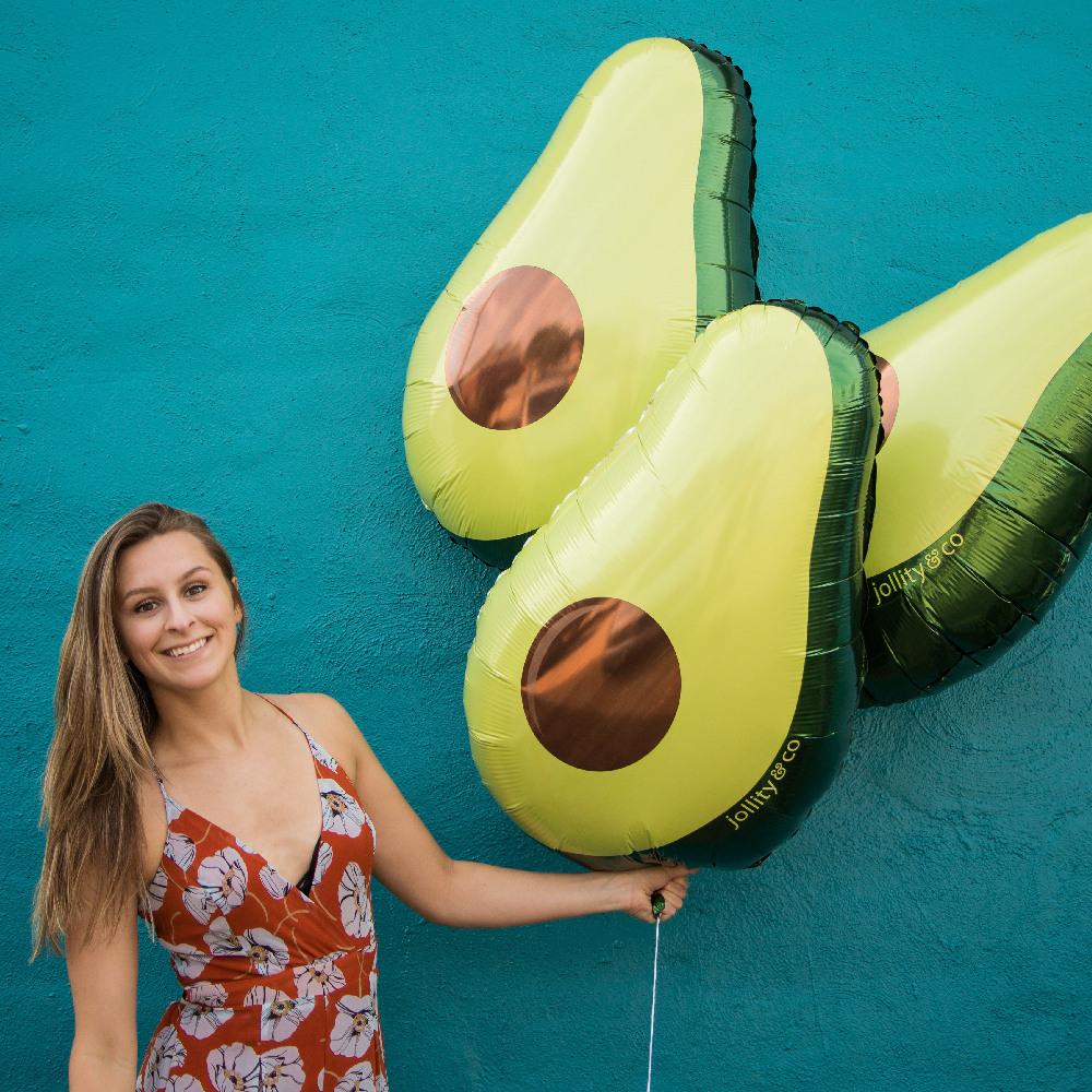 Avocado Balloon 11409