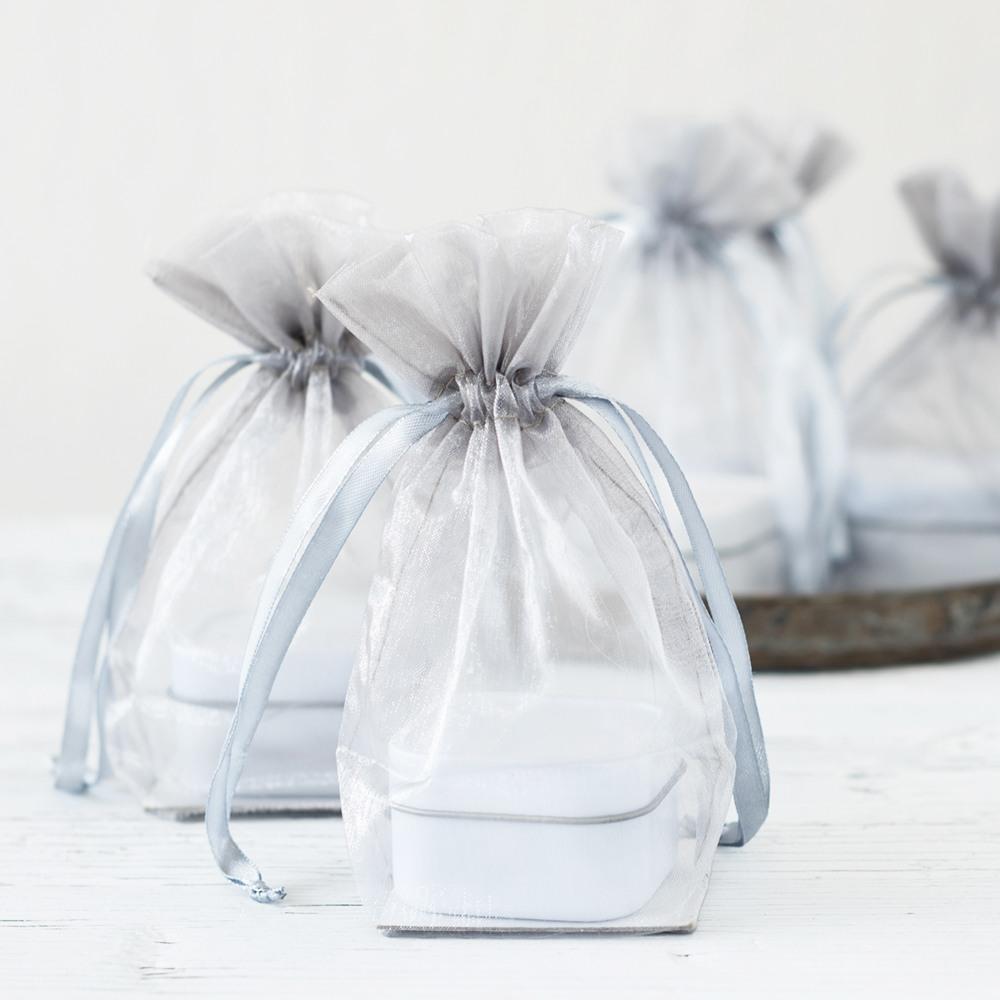 Flat Bottom Organza Bags 1141