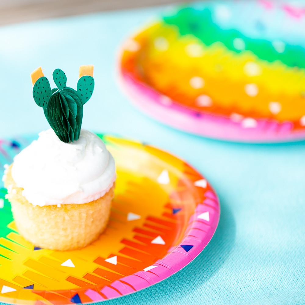 Fiesta Fun Luncheon Plates 11473