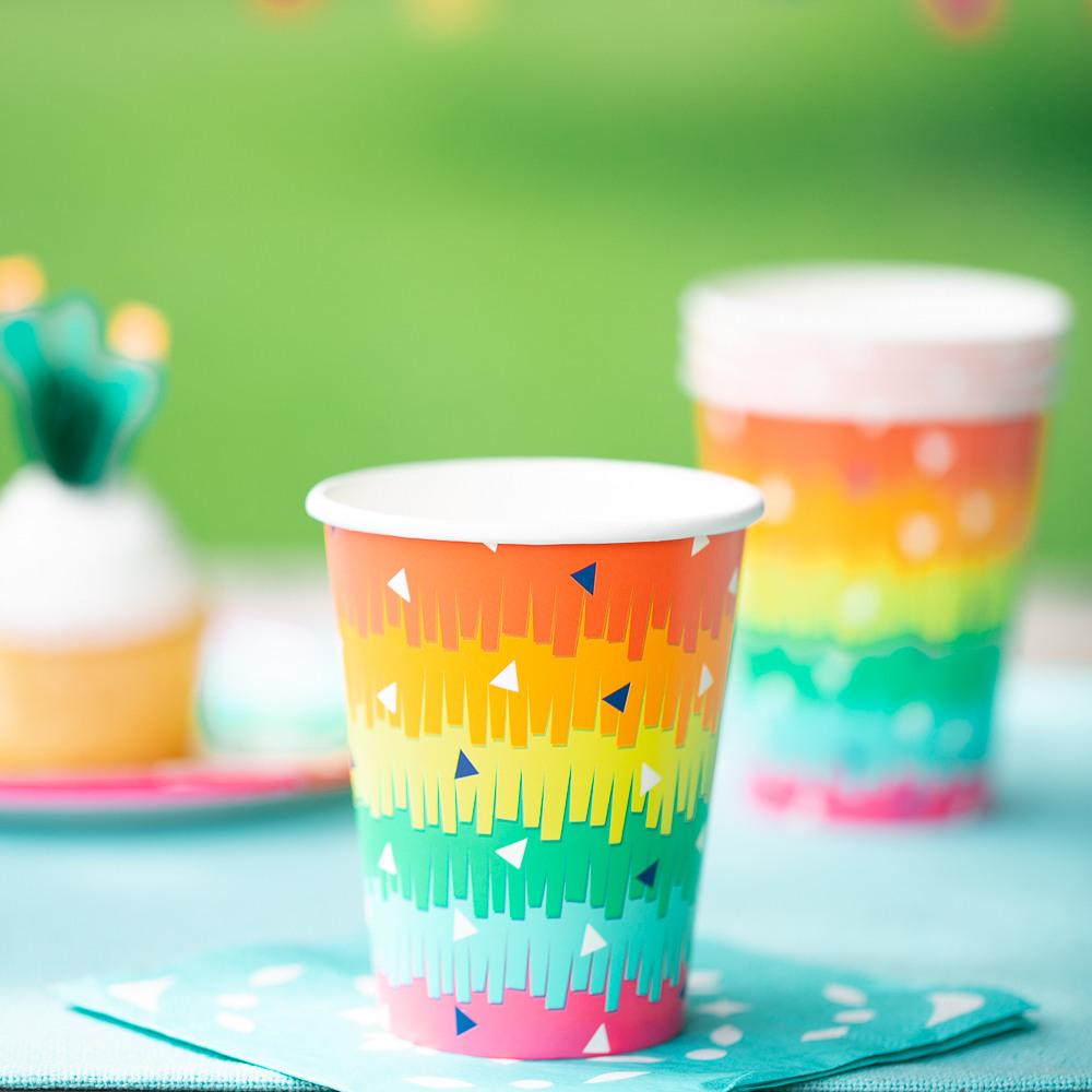 Fiesta Fun Hot/Cold Paper Cup 11477