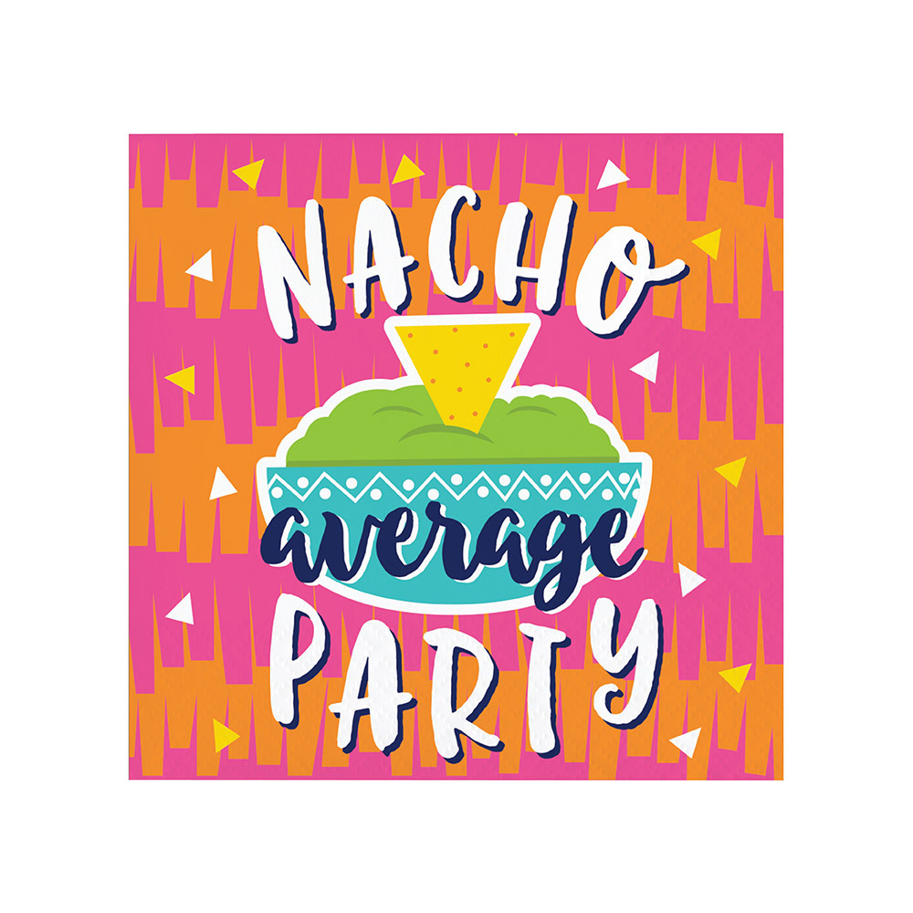 Fiesta Beverage Napkins 11479
