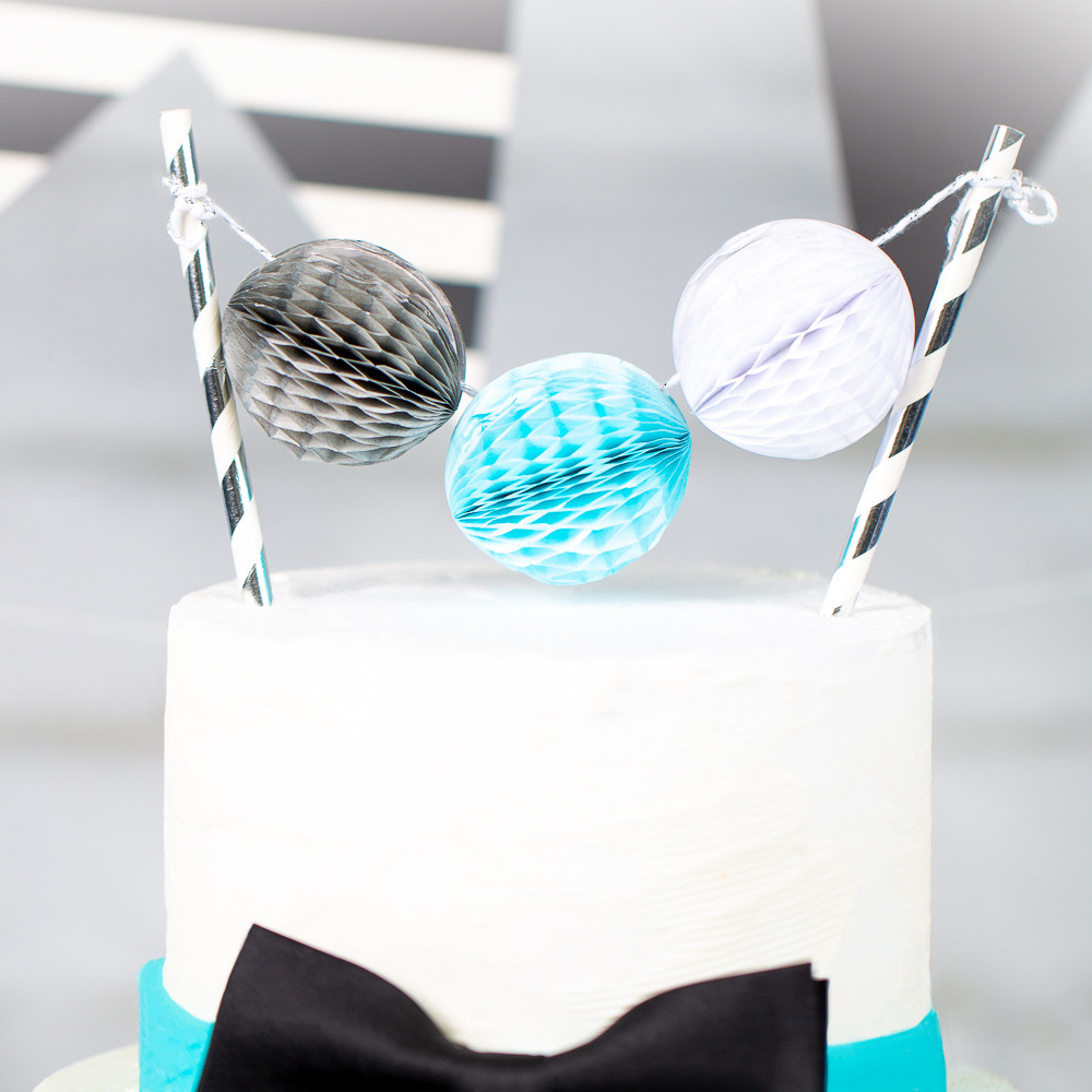 Honeycomb Cake Topper oh boy