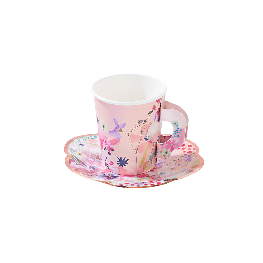 Blossom Girls Cup And Saucer Set 11496