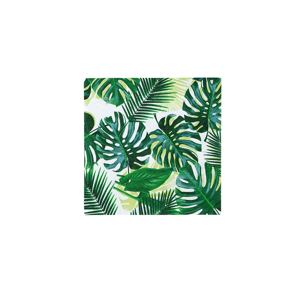Tropical Palm Leaf Cocktail Napkin 11505