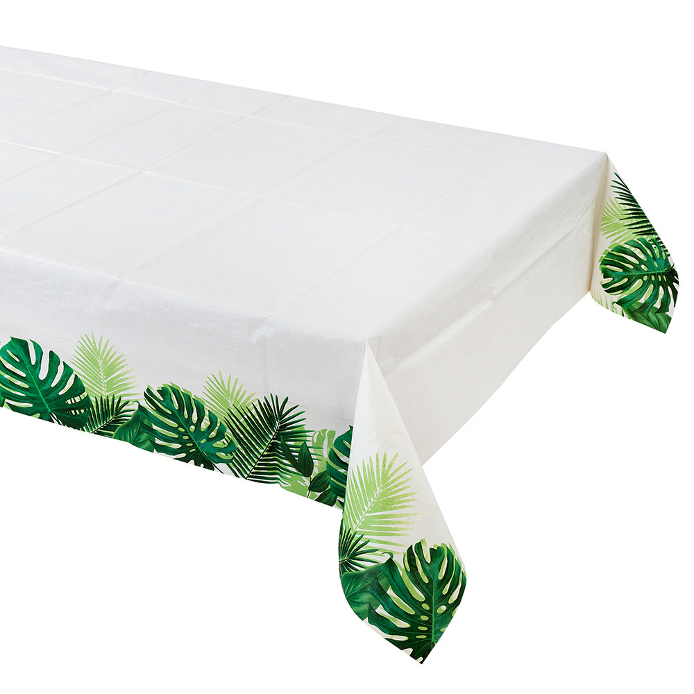 Tropical Palm Leaf Table Cover 11506