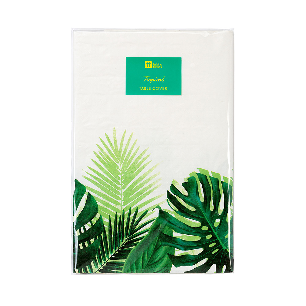 Tropical Fiesta Palm Leaf Table Cover2
