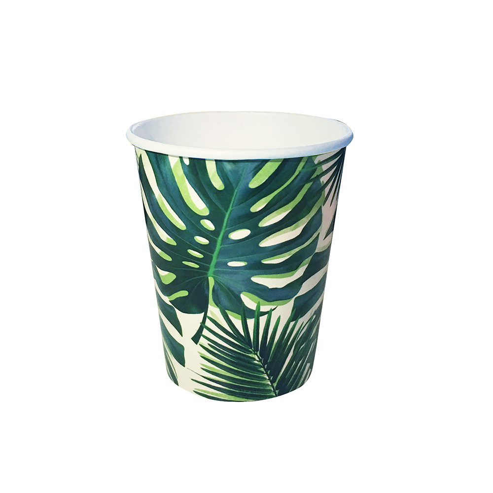 Tropical Palm Paper Cups 11507