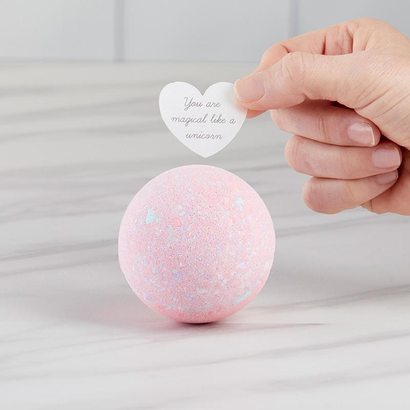 Unicorn Bath Bomb Heart