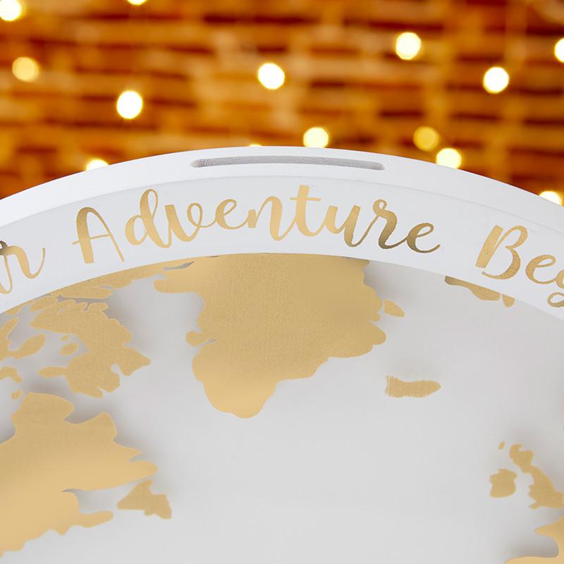Alternative Guestbook Globe Text