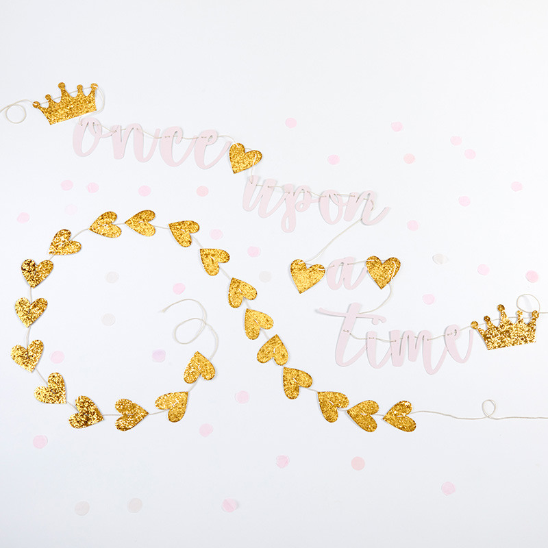 Princess Party Banner Set