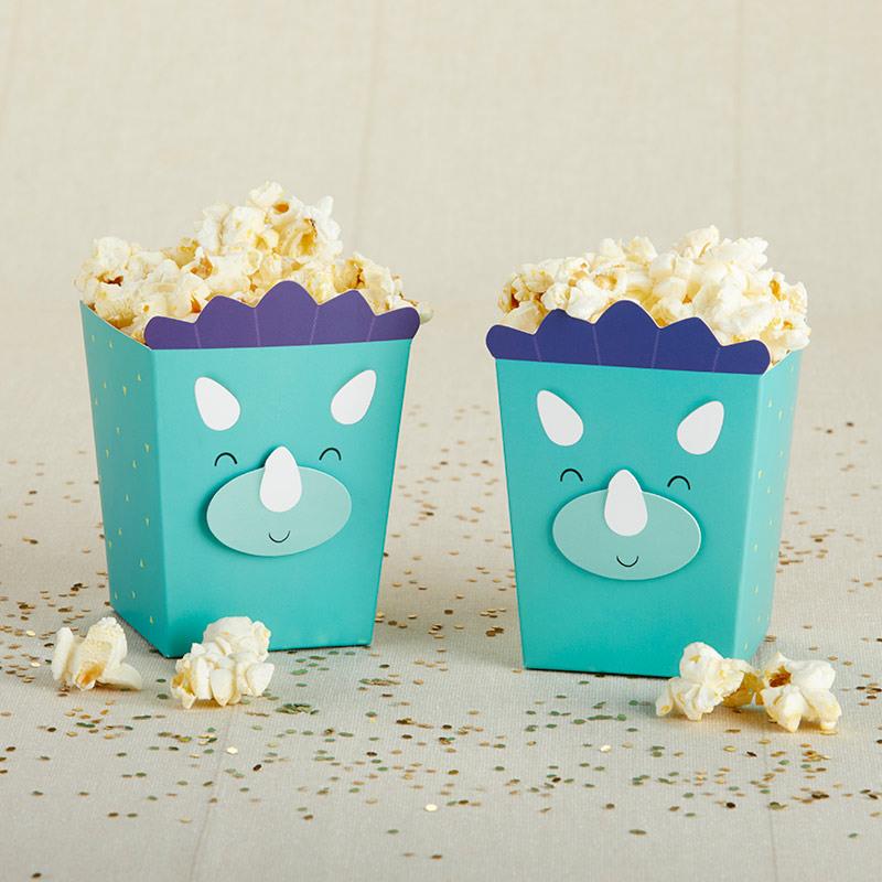 Dino Popcorn Favor Box 11519