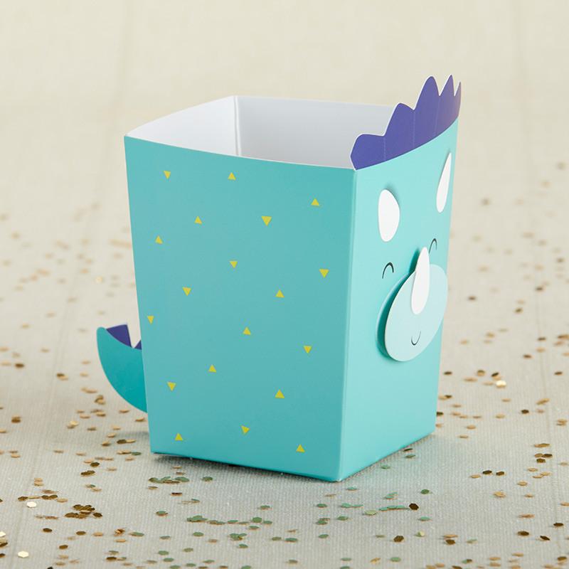Dino Popcorn Favor Box