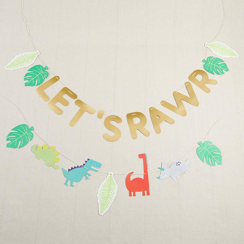Let'S Rawr Party Banner 11522