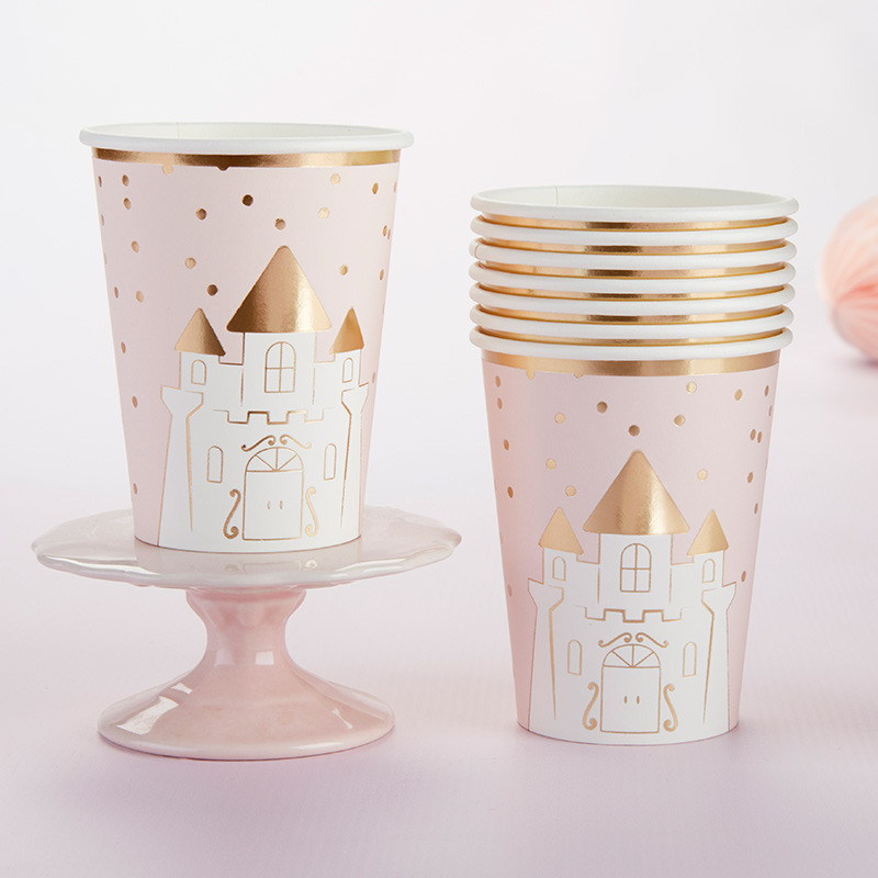 Princess Castle Paper Cups 11524