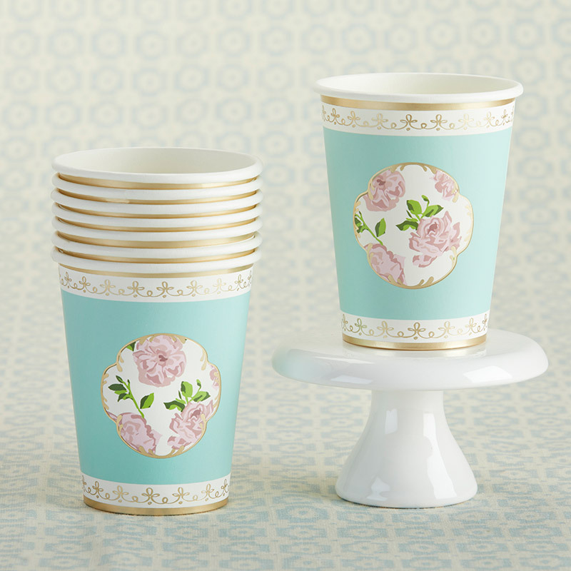 Tea Time Paper Cups 11537