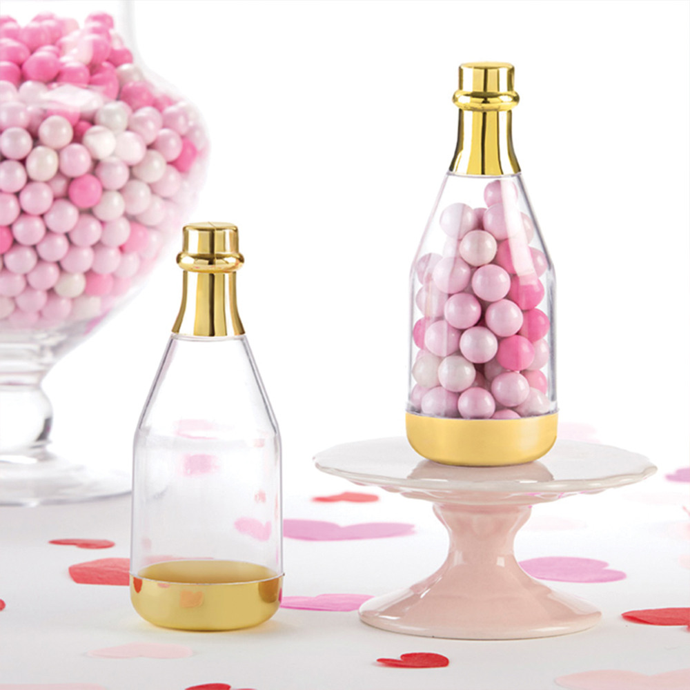 Champagne Bottle Favor Container 11539