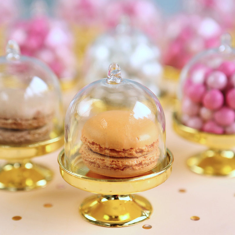 Small Bell Jar with Gold Base
