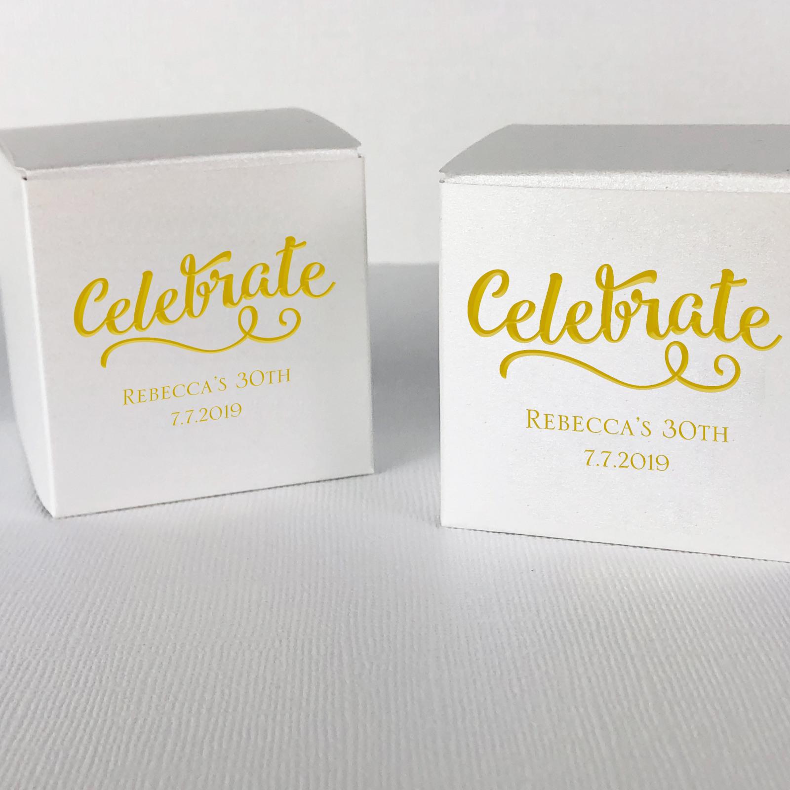 Celebrate Favor Boxes