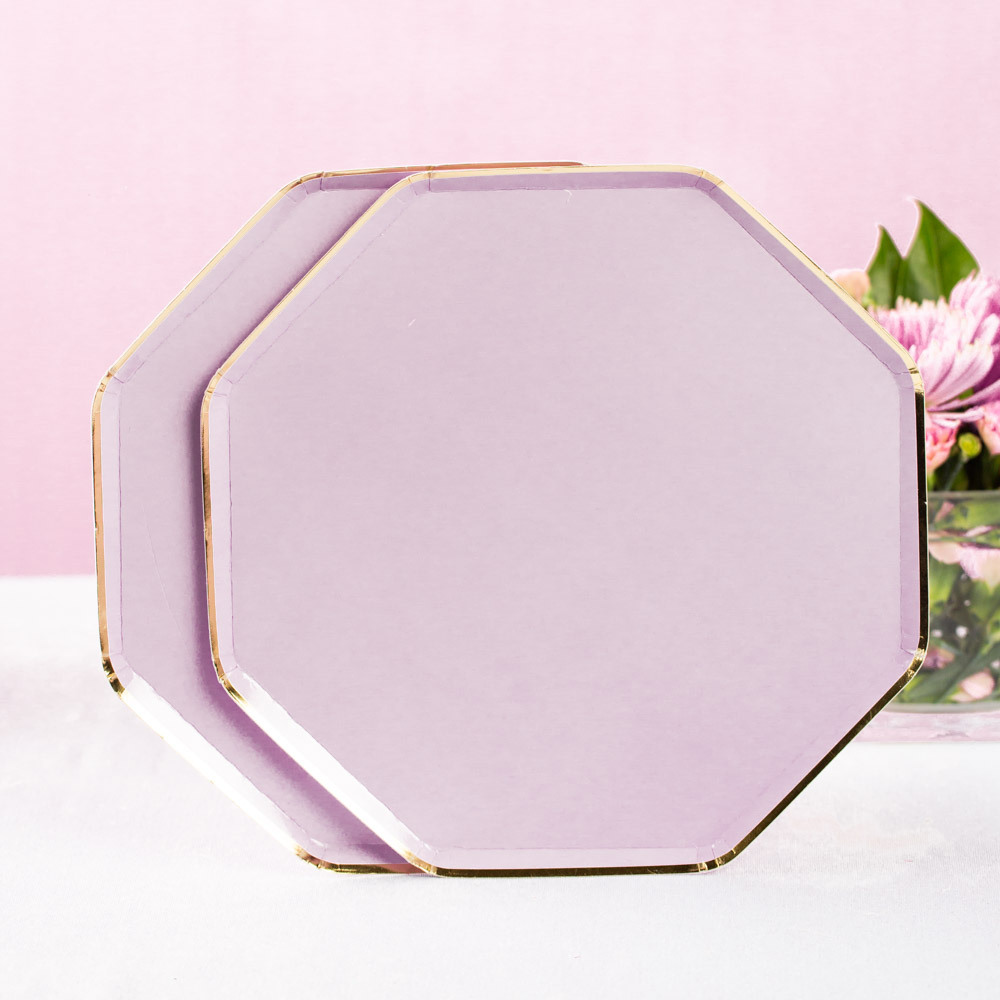 Lilac Dinner Plates 11658