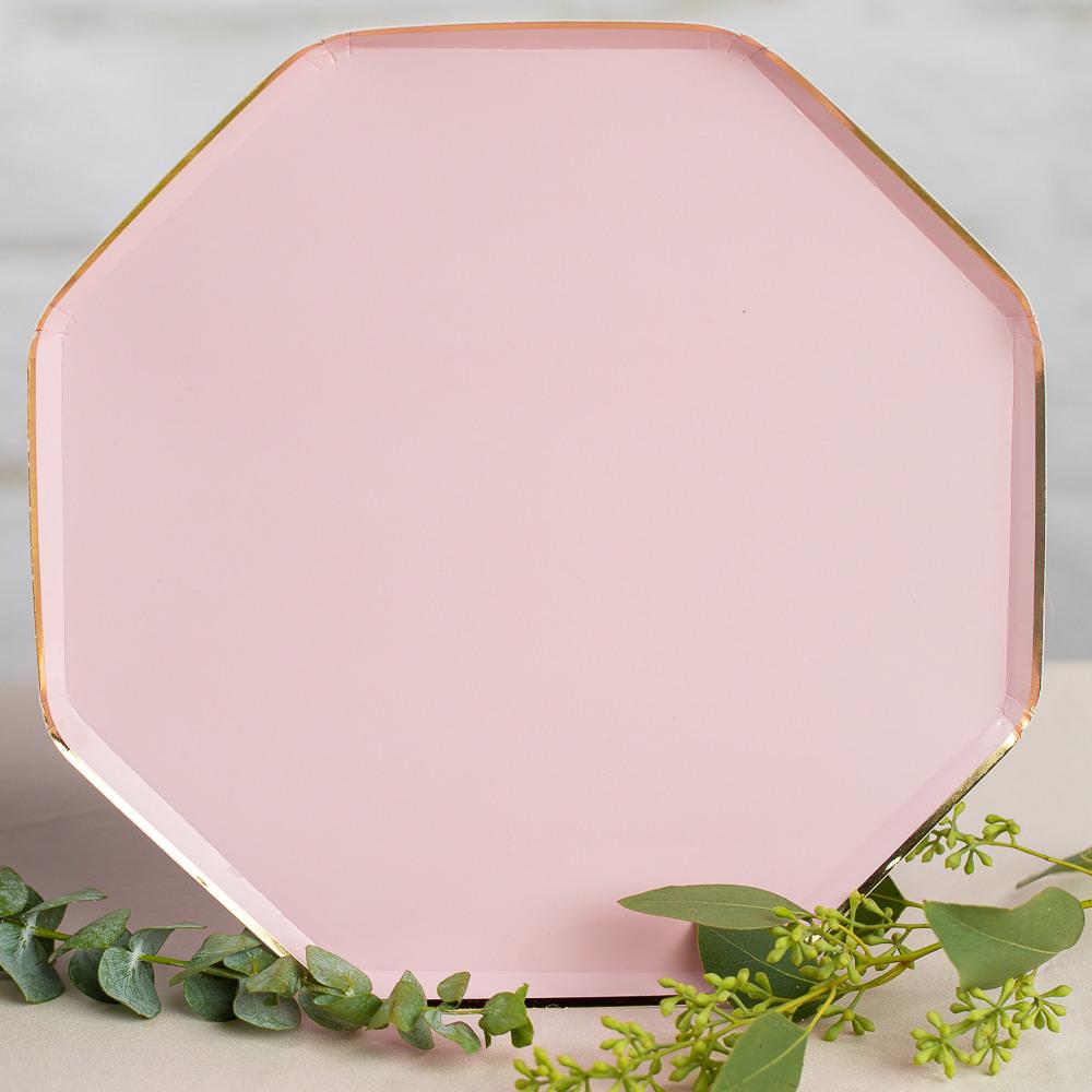 Pale Pink Dinner Plates Eternal Love
