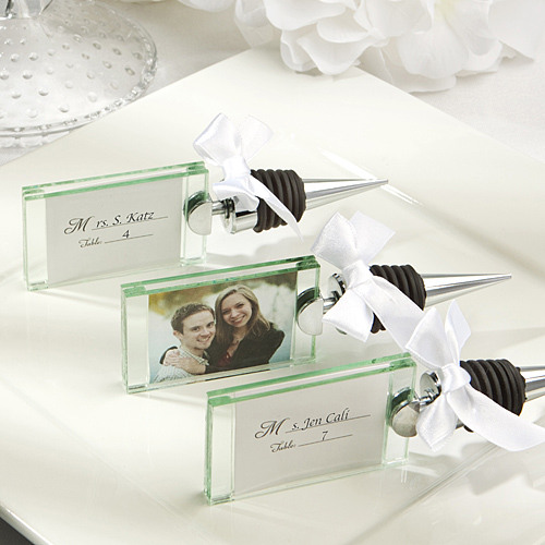 Photo Place Card Holder Bottle Stopper 11669