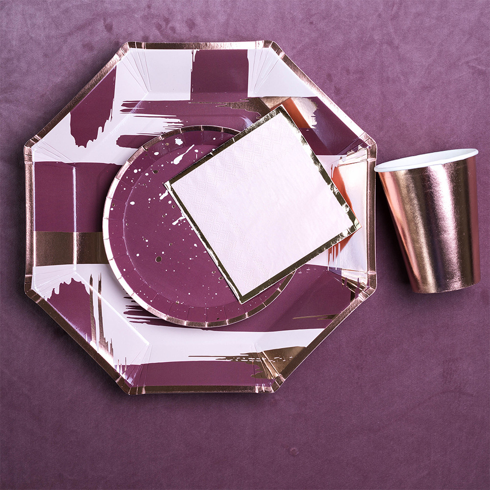Plum Charger Plate 11675