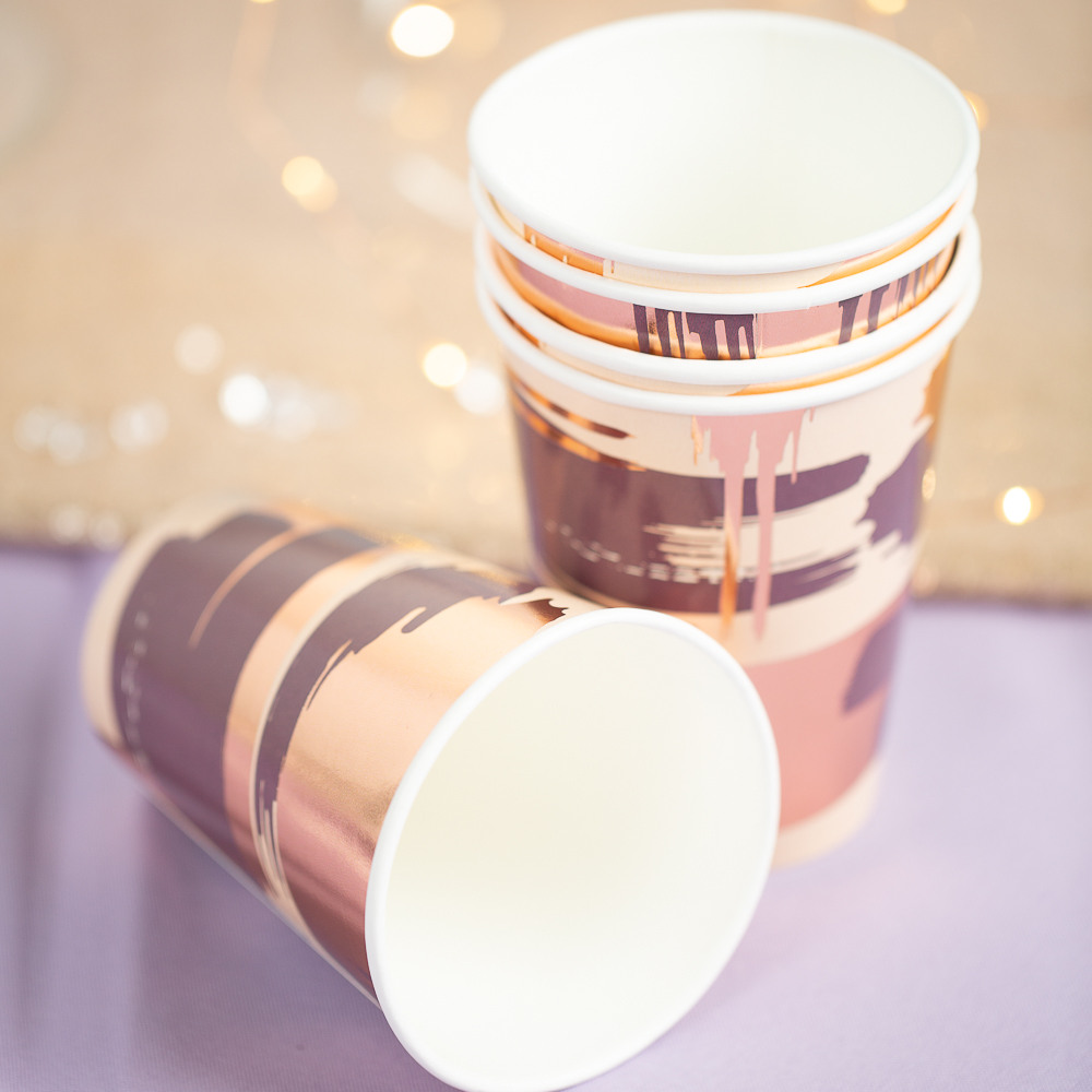 Plum Paper Cup 11677