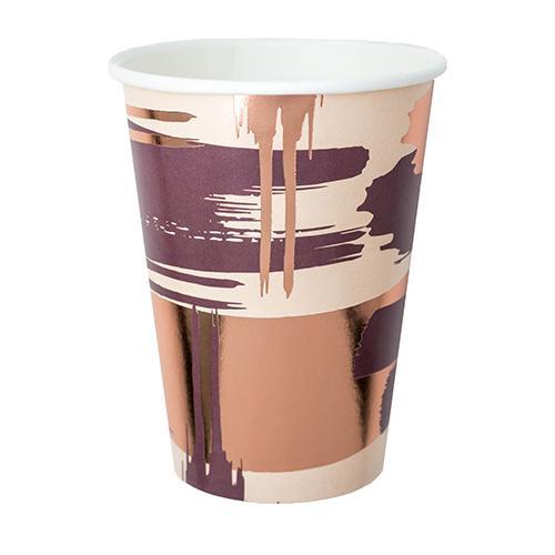 Plum Paper Cup