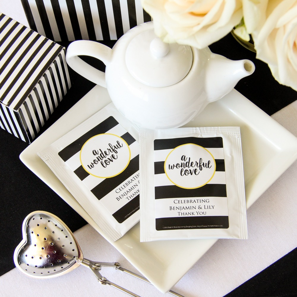 Personalized Wonderful Love Tea Bags