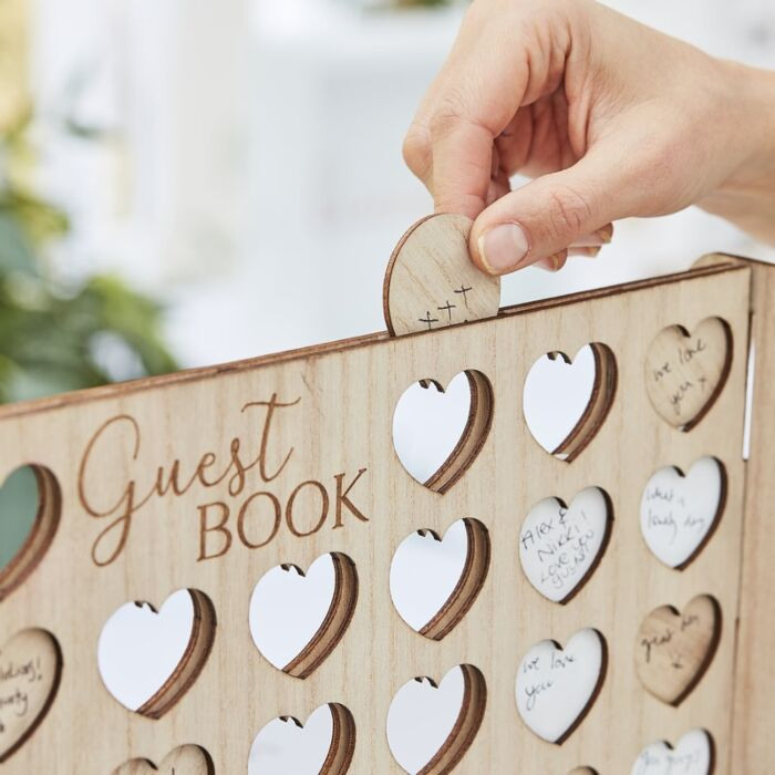 Four in a Row Alternative Guestbook
