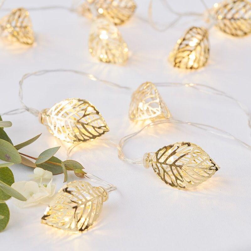 Gold Vine String Lights 11937