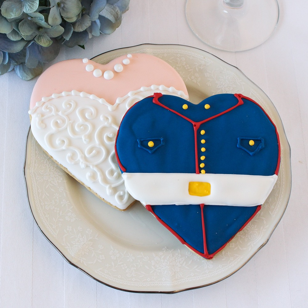Personalized Wedding Themed Cookie Ideas