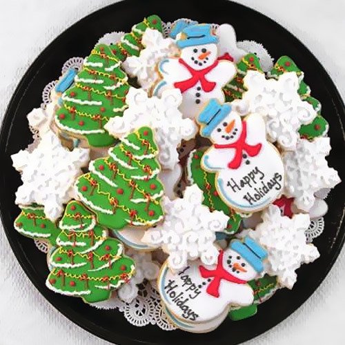 Personalized Holiday Cookies 1297