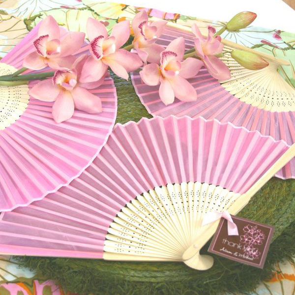 Colored Paper Hand Fans 1333