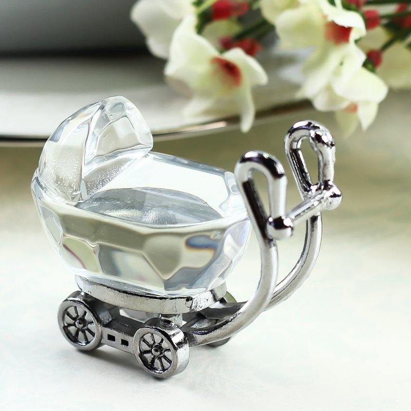 Crystal Baby Stroller Keepsake